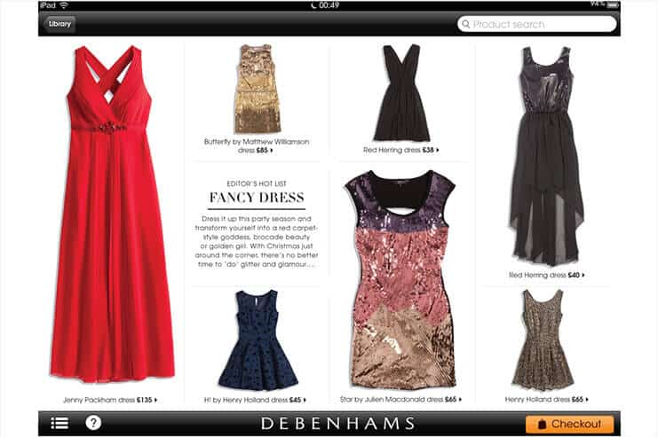 Debenhams Creative Photography for Ipad
